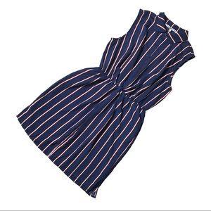 NWOT Collective Concepts Paige Striped Shirt Dress